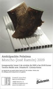 """Exposicion """"Anticipacion Proxima"""" de Moncho (José Ramón González)"""